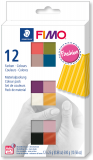 Fimo Soft-sada 12 barev x25g Fashion