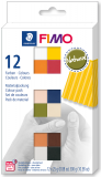 Fimo Soft-sada 12 barev x25g Natural