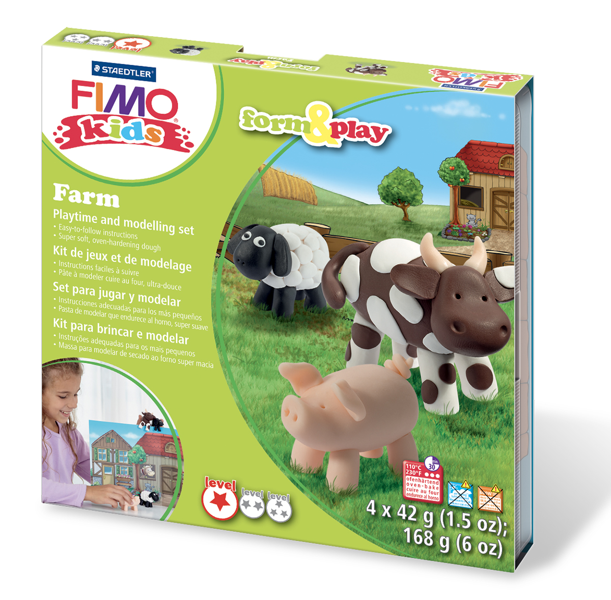 Sada Fimo Kids Farma