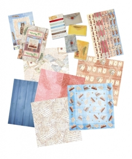 Scrap Art Kit sada 32,5x33cm